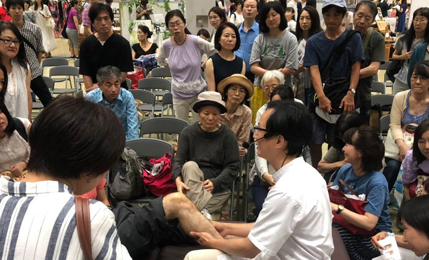 RECEPURE講座を開催します。中国整体師の黄先生(ファンエンキ)